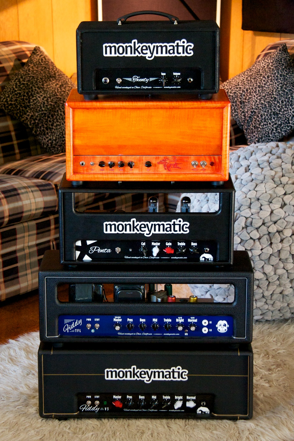 monkeymatic amps